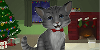 Bring in some holiday cheer with this festive Christmas kitten cacophony.