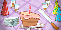 When the cake is just too small for all of the candles fire them up with this funny birthday ecard.