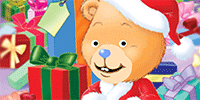 Spread Christmas cheer with this holiday teddy bear ecard.