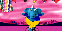 Celebrate them with a whimsical circus birthday ecard.
