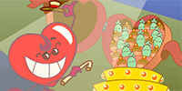 Show them your sweet heart dances for them with this delightful Valentine.